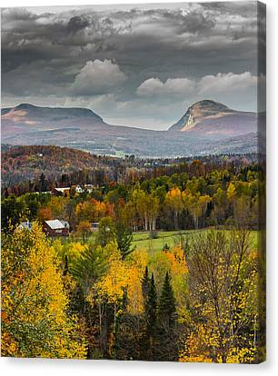 Willoughby Gap Late Fall Canvas Print