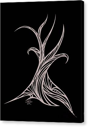 Willow Curve Canvas Print