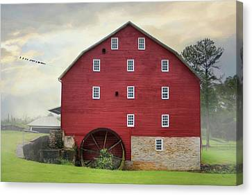 Willow Grove Mill Canvas Print