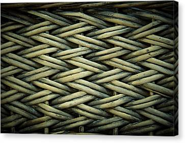 Canvas Print featuring the photograph Willow Weave by Les Cunliffe