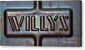 Willys Canvas Print