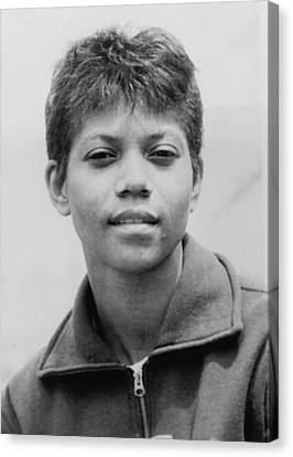 Wilma Rudolph, 1940-1994, Was The First Canvas Print by Everett
