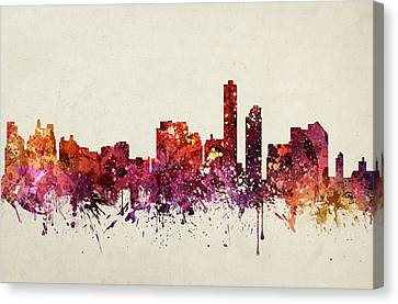 Wilmington Cityscape 09 Canvas Print