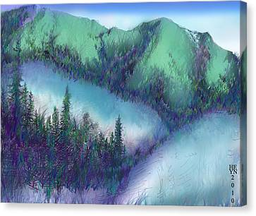 Wilmore Wilderness Area Canvas Print by Shirley Heyn
