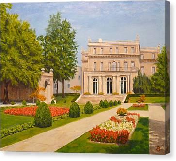 Wilson Hall Monmouth University Canvas Print