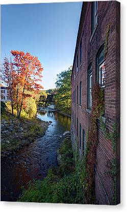 Wilton Center Canvas Print