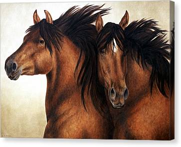 Wind Brothers Canvas Print
