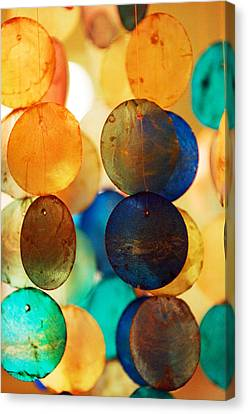 Wind Chimes Canvas Print by Jill Reger