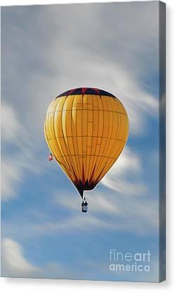 Wind Driven Balloon Canvas Print by Dan Friend