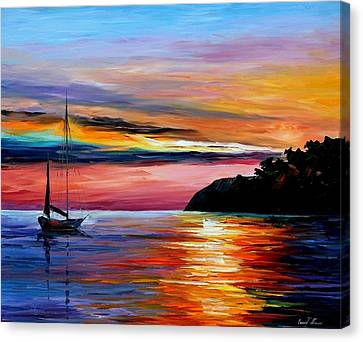 Wind Of Hope Canvas Print by Leonid Afremov