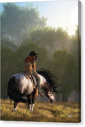 Hopi Canvas Print - Wind Of The Forest by Daniel Eskridge