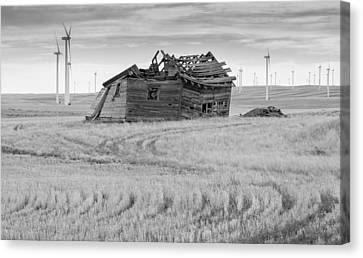 Canvas Print featuring the photograph Wind On The Plains by Fran Riley
