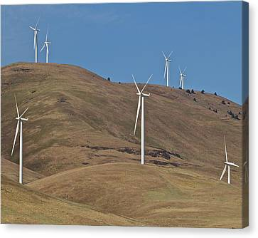 Wind Power 6 Canvas Print by Todd Kreuter