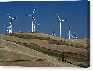 Wind Power Canvas Print by Todd Kreuter