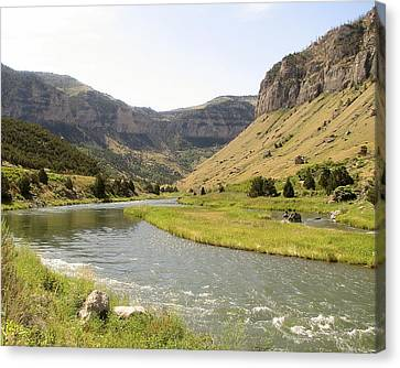 Wind River Canyon 1 Canvas Print