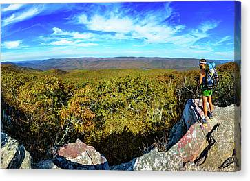 Wind Rock Panorama Canvas Print