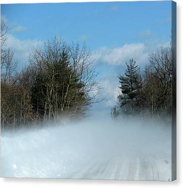 Wind Rushs In Canvas Print