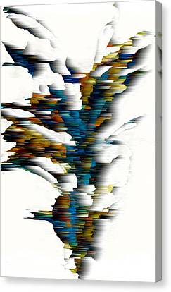 Canvas Print featuring the painting Wind Series 08.072311wscvss by Kris Haas