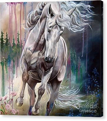 Wind Swept Canvas Print