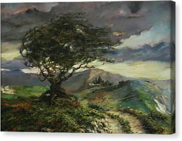 Wind Canvas Print by Tigran Ghulyan