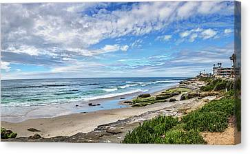 Surf Lifestyle Canvas Print - Windansea Wonderful by Peter Tellone