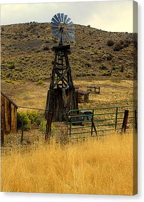 Windmill 1 Canvas Print by Marty Koch