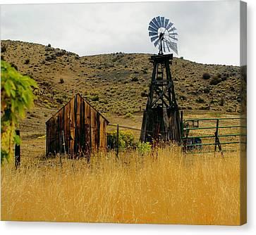 Windmill 2 Canvas Print by Marty Koch
