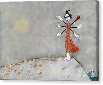 Canvas Print - Windmill by Andrea Benson