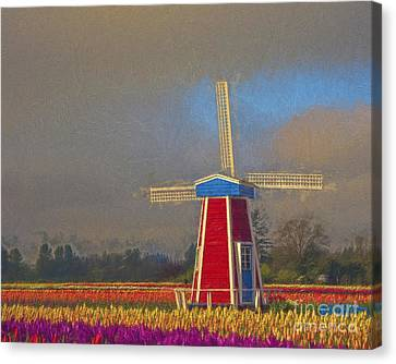 Windmill Canvas Print