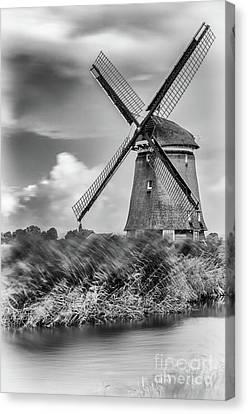 Windmill Canvas Print by Dirk Petersen