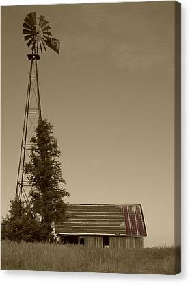 Windmill II Canvas Print