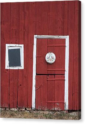 Window And Door Canvas Print by Robert Sander