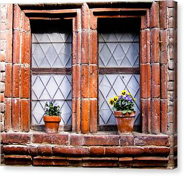 Window And Pots II Canvas Print by Carl Jackson