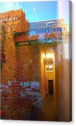 Window Art Lll Canvas Print by Mark Lemon