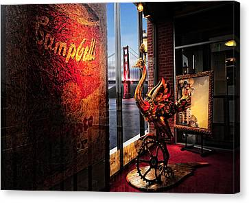 Canvas Print featuring the photograph Window Art by Steve Siri