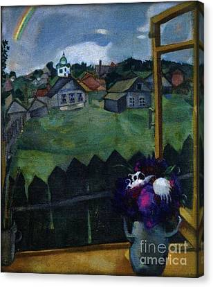 Window At Vitebsk Canvas Print