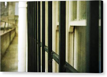 Window Bars Canvas Print by Cathie Tyler