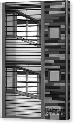 Vertical Horizontal Abstract Canvas Print