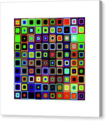 Window Colors 2 Frame Canvas Print