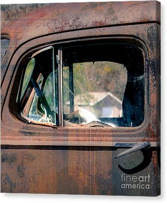 Window In Rural America  Canvas Print by Steven Digman