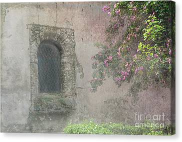 Window In The Wall Canvas Print