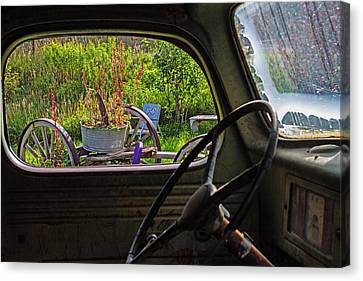 Window In Time Canvas Print by Alana Thrower