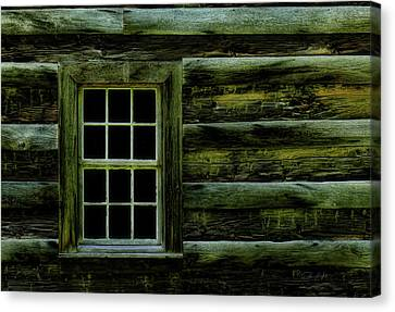 Window In Time Canvas Print