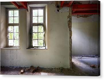 Window Light Abandoned Building Canvas Print by Dirk Ercken