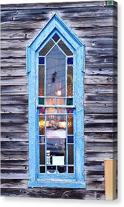 Glowing Window Light Canvas Print by Kim Bemis