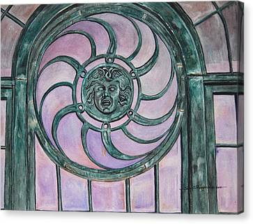 Window Memory Canvas Print by Judy Riggenbach