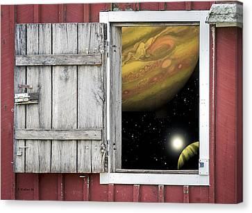 Window Of The Mind Canvas Print by Brian Wallace