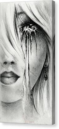Window Of The Soul Canvas Print