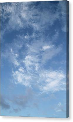 Canvas Print featuring the photograph Window On The Sky In Israel During The Winter by Yoel Koskas