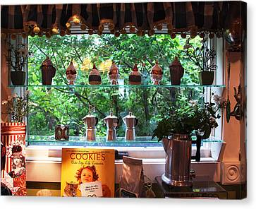 Window Shopping Canvas Print by Joanne Coyle